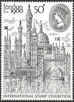 Great Britain 1980 LONDON INT STAMP EXHIBITION Unhinged Mint SG1118