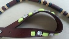 Bracelets Hollister brand one real leather and other  real woods