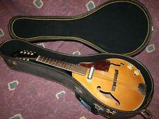 Vintage 1960's Capitol Japan electric A style Mandolin Kent w/case