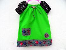 128GB Mädchenkleider Muster aus 100% Baumwolle für alle Größe
