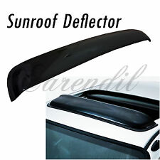 38 Inch 980mm SunRoof Moon Deflector Visor Smoke Black #Pt12 JDM Rain Wind Guard