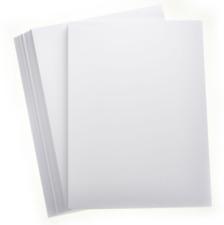 20 SHEETS PREMIUM A4 WHITE CARD 350gsm SMOOTH CRAFT HOBBY PRINTER THICK