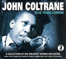 John Coltrane~Blue Trane Coming~A Collectio Of His Greayest Works~NEW 3 CD SET