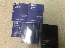 2002 Ford Mustang Gt Cobra Mach Service Shop Repair Manual Set W PCED EWD SPECS