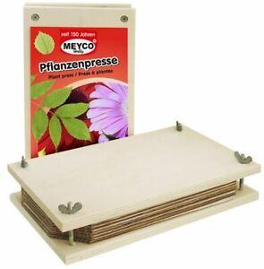 Meyco Pflanzenpresse / Blumenpresse