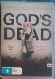 God's Not Dead DVD Gods R0 - all reigons