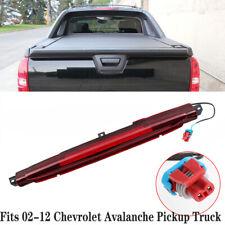 Fits 02-12 Chevrolet Avalanche Pickup Truck 3rd Third Brake Light CHMSL 15120540