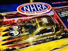 NHRA Al Hoffman 1:24 Diecast NITRO Funny Car GOLD CHROME Drag Racing MOONEYES