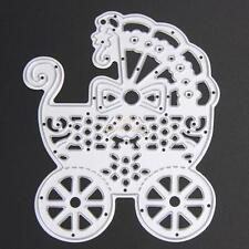 Baby Carriage Cutting Dies Stencil For DIY Scrapbook Album Paper Card Craft Tool