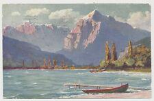 AK Paolo Kutscha - Die Schweiz - Walensee  (Y671)