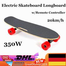 350W E-Skateboard, Elektro Skateboard,Electric Longboard 20km/h w/ Fernbedienung
