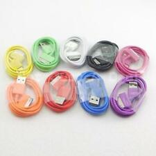 BRAND NEW IPHONE 4/4S COLOR AC WALL CHARGER + USB DATA SYNC CABLE