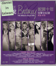 Britney Spears: The Singles Collection (2009) CD & DVD SLIPCOVER TAIWAN