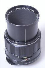 PENTAX M42 SCREW MOUNT 50MM 4.0 ASAHI SUPER-MC-MACRO-TAKUMAR LENS.