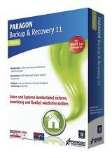 Paragon Backup & Recovery 11 Home CD/DVD Version deutsch EAN 4023126113863