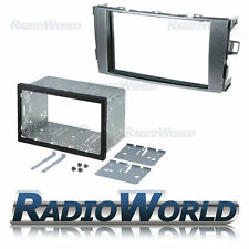 TOYOTA Auris double din fascia PANEL Adaptateur Plaque Kit de montage cage dfp-11-12