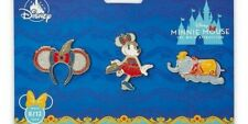 Disney Minnie Mouse The Main Attraction Dumbo August Pin Set *IN HAND*