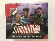 2017 TOPPS STADIUM CLUB SOCCER RETAIL BOX