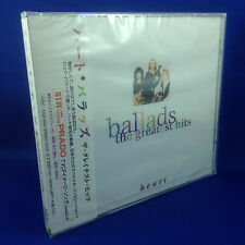 HEART: Ballads The Greatest Hits (ULTRA RARE OOP 1996 JAPAN ONLY CD TOCP-8945)