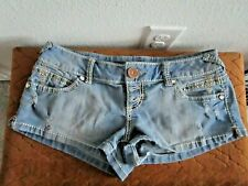 Almost Famous Distressed Denim Shorts Size 7