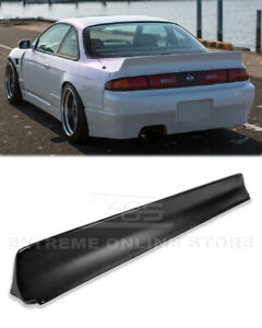 JDM Rear Trunk Spoiler For 95-98 Nissan 240SX S14 Coupe Bunny Style Lid Wing