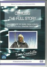 OSMOSIS THE FULL STORY DVD PRESENTED BY TOM CUNLIFFE BOAT REPAIRS