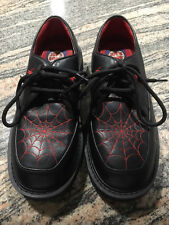 Joes Garb Red Spider Web Kids Shoe Size 4