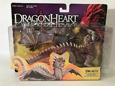 Vintage Dragonheart Draco Dragon Figure Power Flap Wings Hasbro 1995 MOC