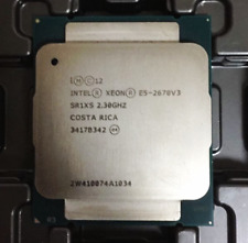Intel Xeon E5-2670 V3 2.3GHz 12 Core 24 Threads LGA 2011-3(SR1XS)CPU Processor