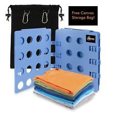 Shard Global Clothes Folder T-shirt Folding Board for clothes with a Storage Bag