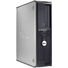 Fast Dell Desktop Computer Pc Core 2 Duo 8Gb Ram 250G Windows 10 64