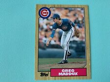 Greg Maddux 1987 Topps Traded Rookie Card #70T - CUBS