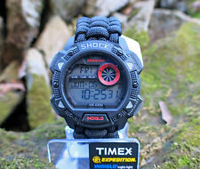 NEW! Timex Expedition Shock Resistant Watch w/ Handmade Paracord 550 Watch Band
