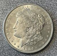 BU 1921-P MORGAN SILVER DOLLAR 90% SILVER $1 - Gorgeous UNCIRCULATED UNC 1921 P