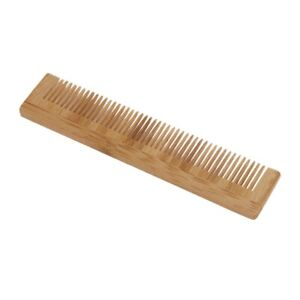 Japanese style wooden small teethed comb