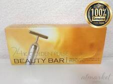 Beauty Bar 24k Golden Pulse Skin-care Gold Facial Roller for Anti Aging Japan