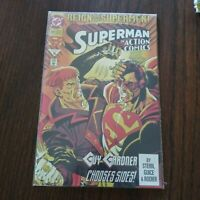 Reign of the Supermen Superman in Action Comics #688 July 1993 Comic Book