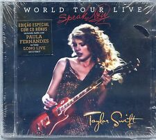 TAYLOR SWIFT CD BRAZIL + WITH 1 CD BONUS PROMO ( BRAZILIAN EXCLUSIVE) ++ RARE ++