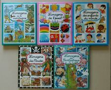 Lot de 5 livres L'Imagerie Fleurus Montagne Eveil Enfants Pirates Fantastique