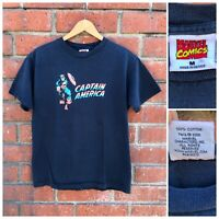 Vintage 2006 Captain America Marvel Comics T Shirt Mens Size Medium Avengers