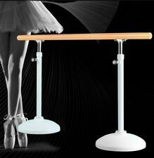 Ballet Dance Barre BestQuality Adjustable Stainless steel Solid/Pinewood Fitness