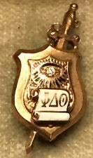 14K Gold Phi Delta Theta Fraternity Pin - ND Alpha Chapter