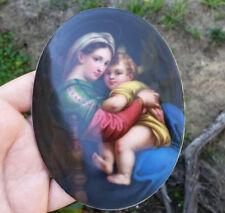 An Antique Handpainted Porcelain Plaque KPM Quality