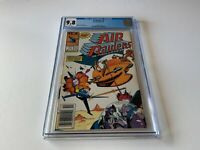 AIR RAIDERS 1 CGC 9.8 WHITE PAGES NEWSSTAND EDITION MARVEL COMICS