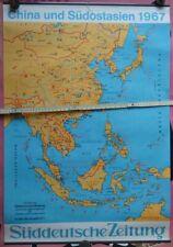 China und Südostasien 1967, Plakat Süddeutsche Zeitung