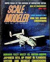 Vtg Scale Modeler Magazine July 1968 Lanoe Hawker's DH-2 m113