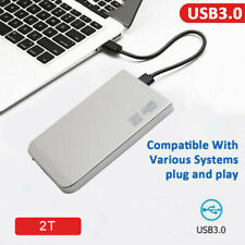 2TB USB3.0 External Hard Drive HDD Externo HD Disk  Storage Devices For Laptop