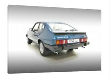 1980 Ford Capri 3.0S - 30x20 Inch Canvas Art - Framed Picture Print