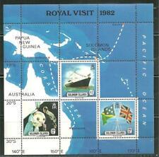 SOLOMON ISLANDS 480A MNH S/S ROYAL VISIT 1982
