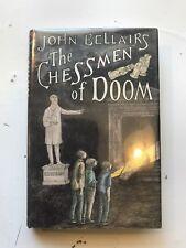 THE CHESSMEN OF DOOM John Bellairs Edward Gorey 1989 HB w/DJ 1st ed mystery book